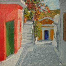 Greek alley